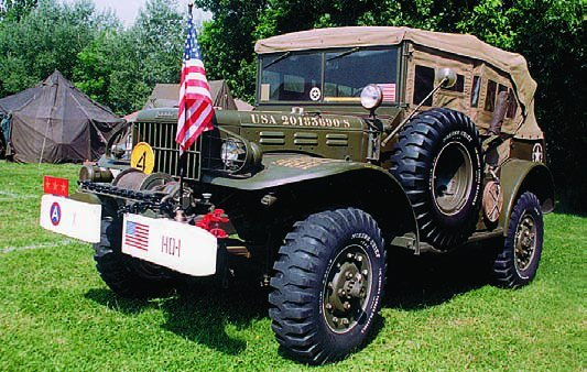 1945 Dodge Т214 WC57 staff car General Patton