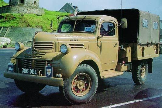 1945 Dodge Т222 (D15)
