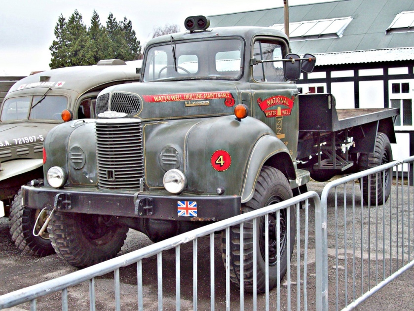1946 Commer Q4 Utility Truck Engine 4700cc S6