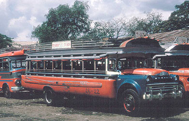 1946 Desoto Thai Bangkok Bus 46-22 open