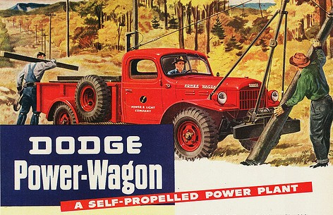 1946 Dodge Power Wagon magazine advertisement