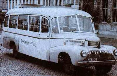 1946 Van Hool Dodge-Chassis