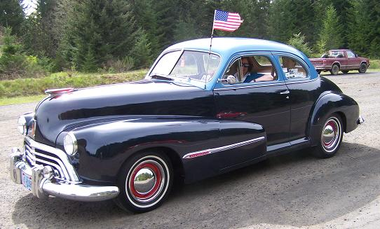 1947 Dodge Deluxe Club Coupe Old