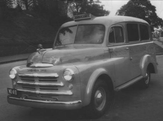 1948 Dodge woodend 198 Suburban
