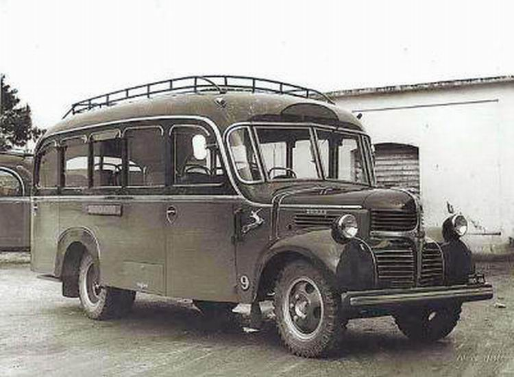 1949 Dodge autobus Heiloo