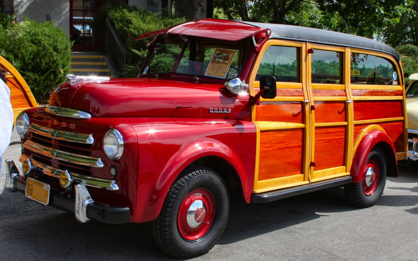 1949 Dodge B-series woodie carryall