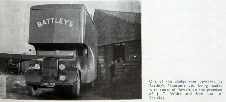 1949 Dodge Brothers Lorries