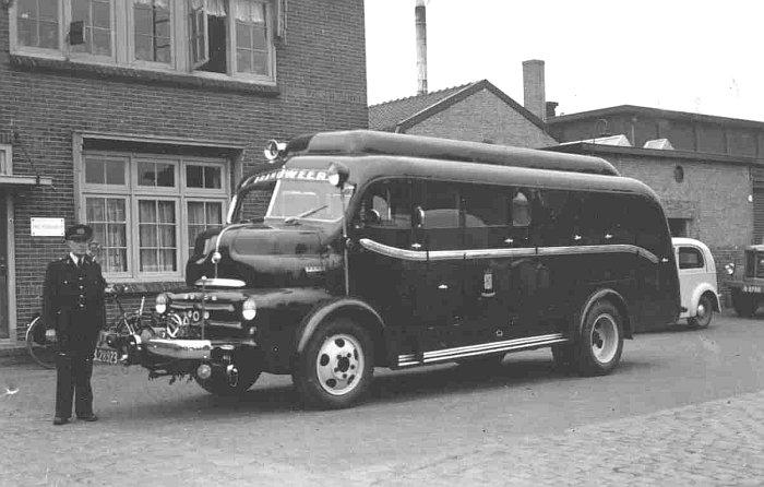 1949 Dodge Coe gebouwd door fa v Bergen Heiligerlee B-28923