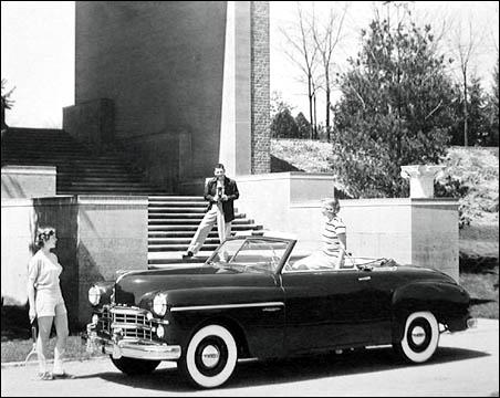 1949 Dodge wayfarer convert