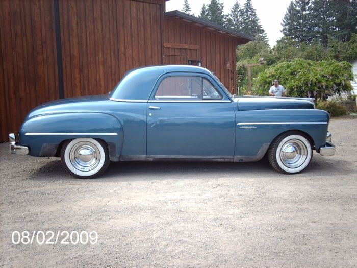 1949 Dodge Wayfarer Coupe