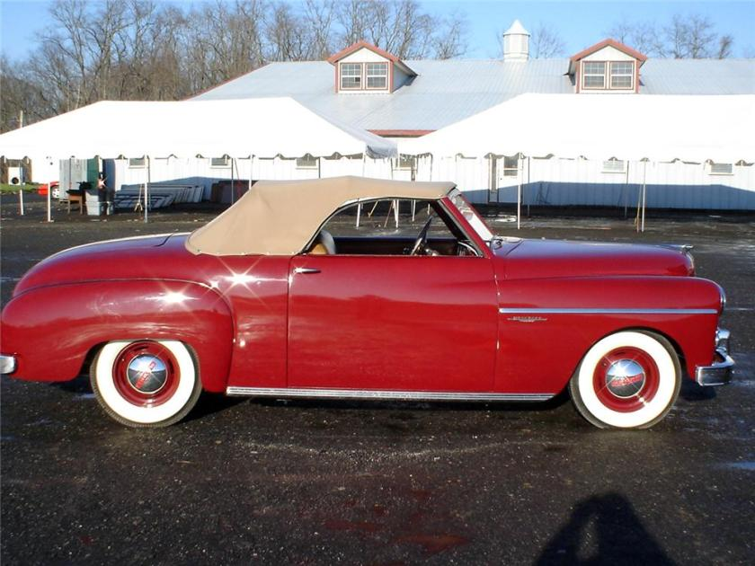 1949 DODGE WAYFARER SPORTS ROADSTER