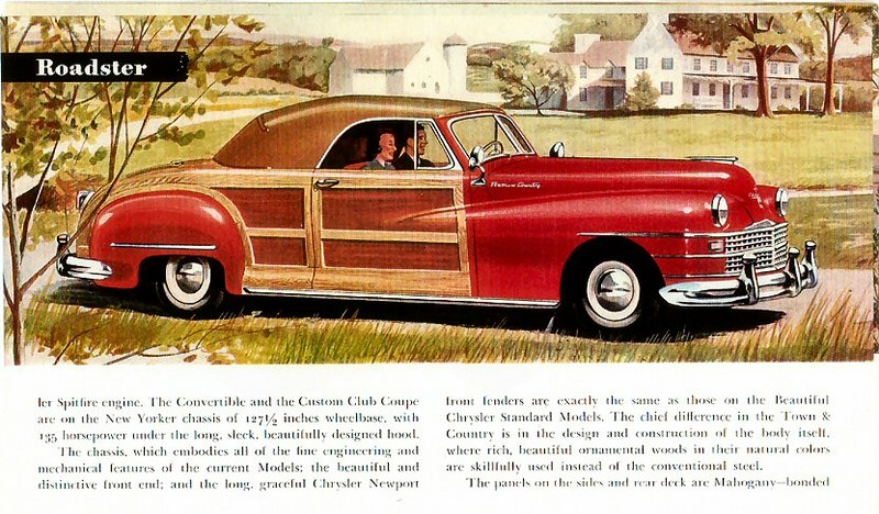 1949 Dodge Wayfarer Woody