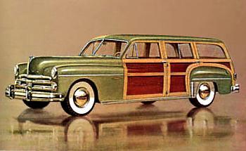 1950 Dodge coronet woody