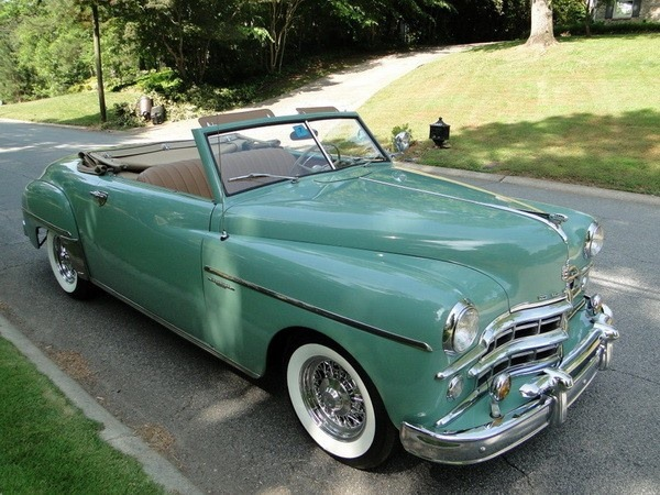 1950 Dodge Wayfarer Convertible