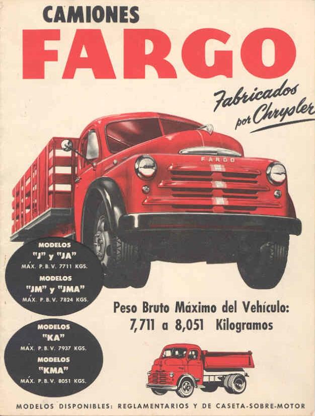 1950 Fargo anni50 camion espagna