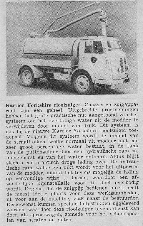 1950 Karrier (GB) - Autobedrijf Ten Hoeve, Den Haag