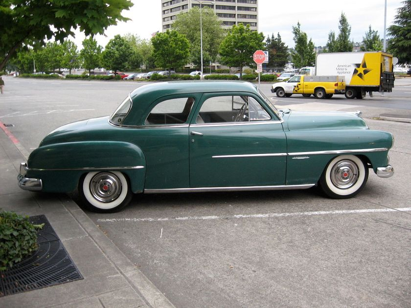 1951 Dodge Coronet coupe