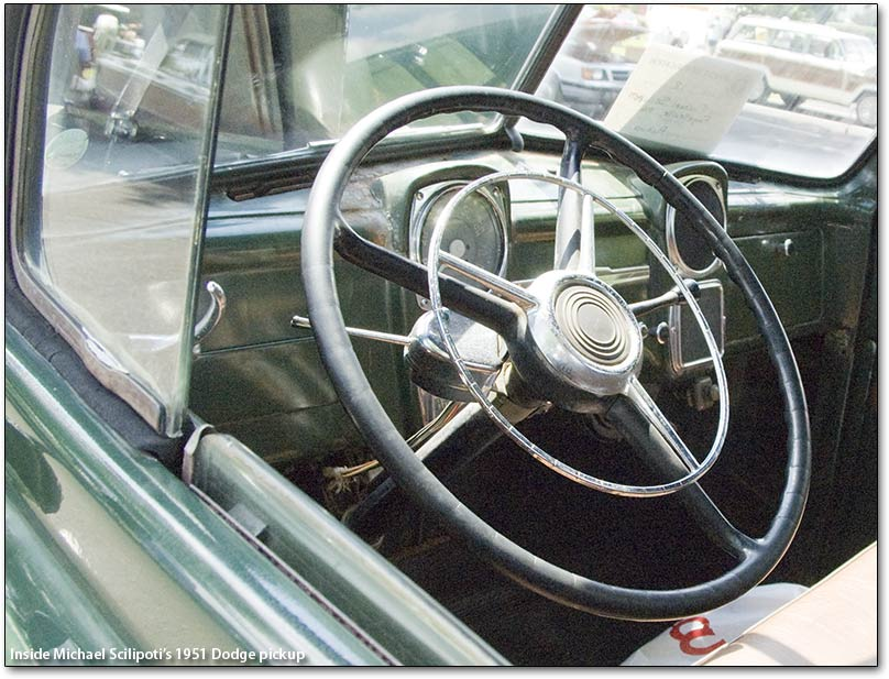 1951 Dodge Pickup truck dashboard