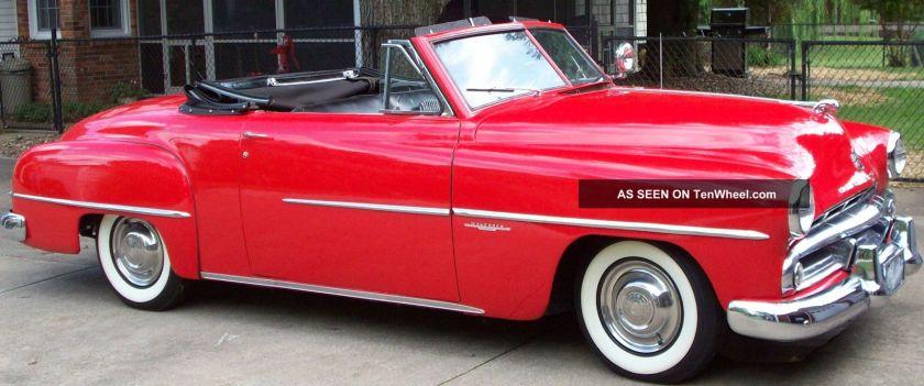 1951 Dodge Wayfarer Sportabout Convertible Rare