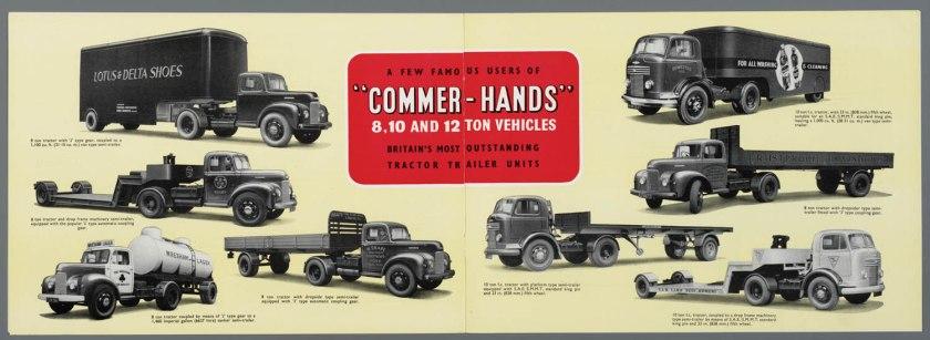 1952 Commer alle typen brochure d