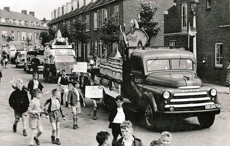 1952 Dodge 14-07-52  haringrit Vlaardingen