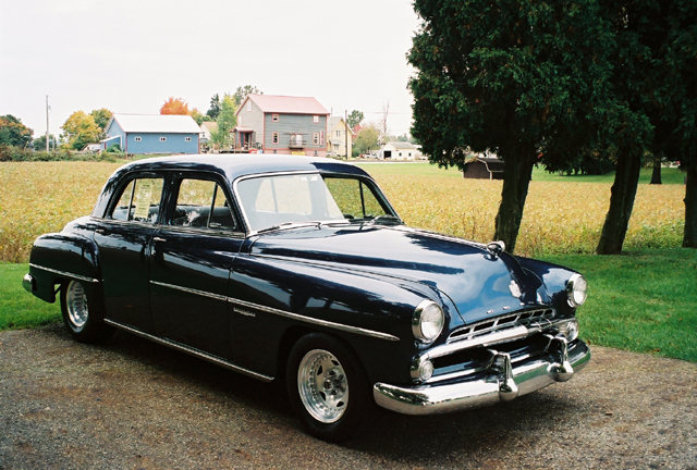 1952 Dodge Meadowbrook 4 dr Sedan
