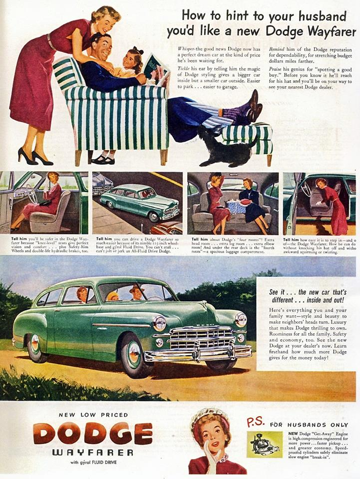1952 Dodge Wayfarer As