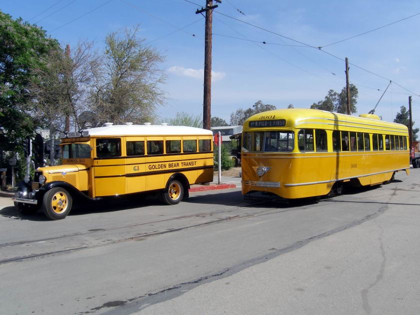1952 Dodge Yellow school bus