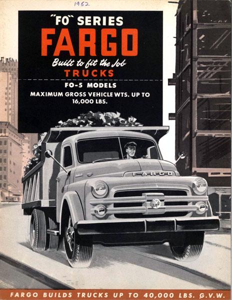 1952 Fargo FO-5- 01