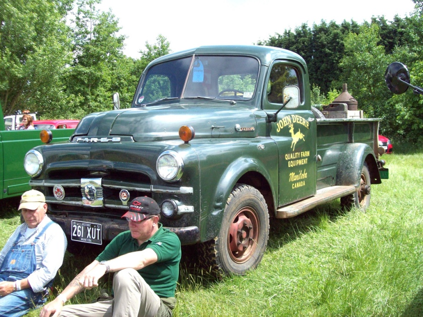 1952 Fargo Pick-Up Engine 3700cc Registration 261 XUT