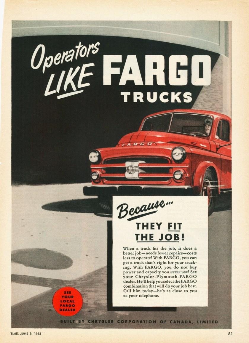 1952 Fargo Truck Ad-01