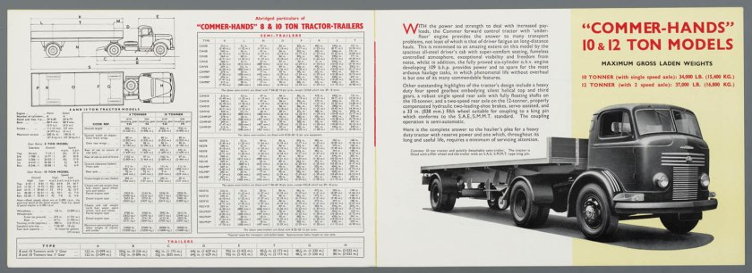 1953 Commer 8,10 & 12 Ton c