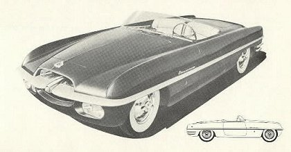 1953 Dodge firearrow 2