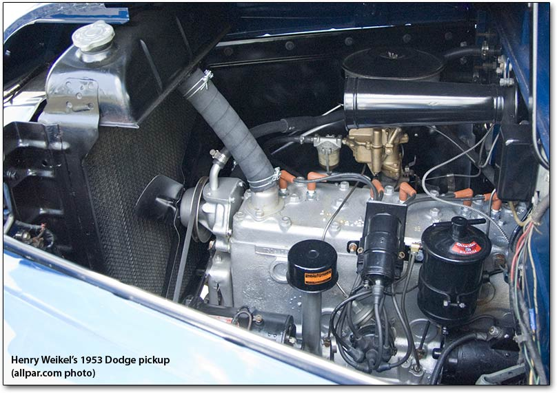 1953 Dodge Pickup-engine