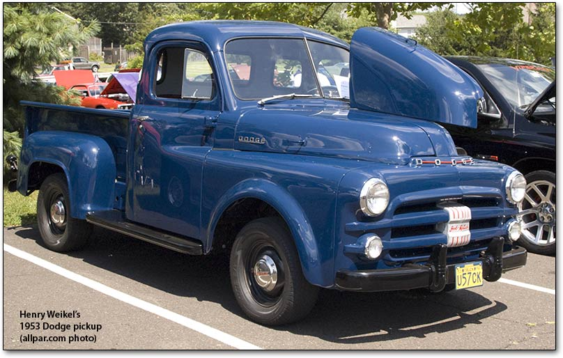 1953 Dodge Pickup Truck Blue