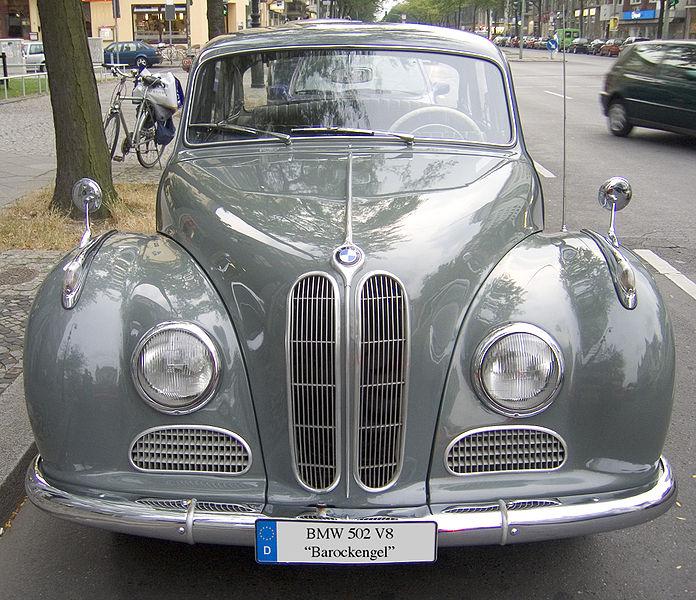1954 BMW Typ 502 V8
