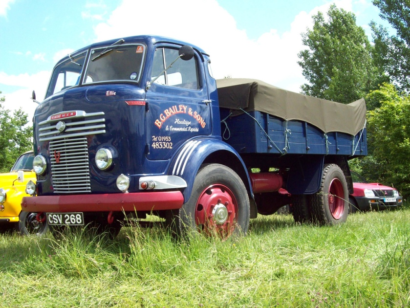 1954 Commer C Type Mk.III Tipper  Registered CSV 268