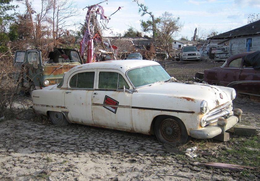 1954 Dodge Coronet after hurricane catrina New orleans
