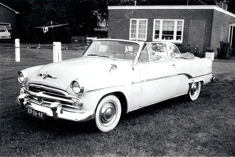 1954 Dodge Royal V8 Powerflite Convertible a