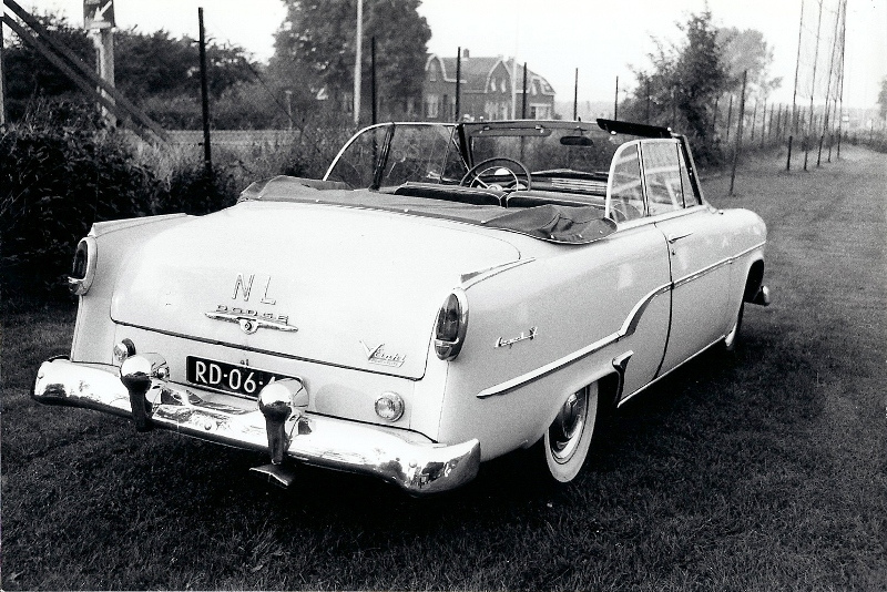 1954 Dodge Royal V8 Powerflite Convertible