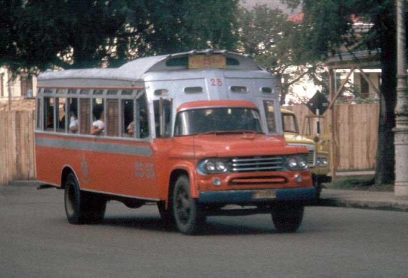 1955 Desoto Askam Fargo Dodge Thaibus Bangkok 25-55 Desoto