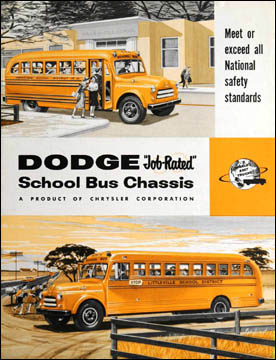 1955 Dodge School bus