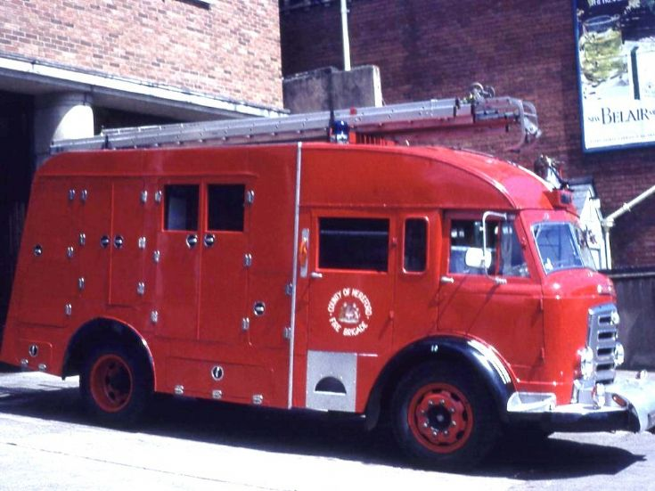 1956 Commer Emergency Tender
