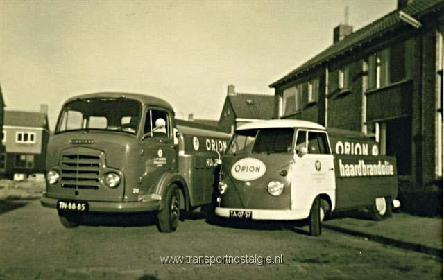 1956 Commer + VW Orion