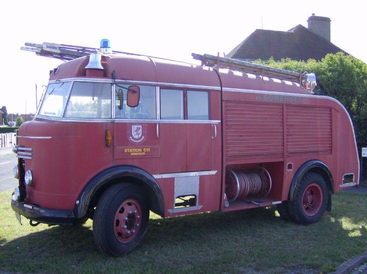 1956 Commer WrT Escape. Fire Engine