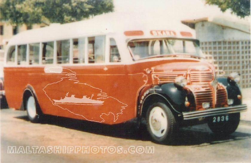 1956 Dodge EBY-614 2836 Maltaship