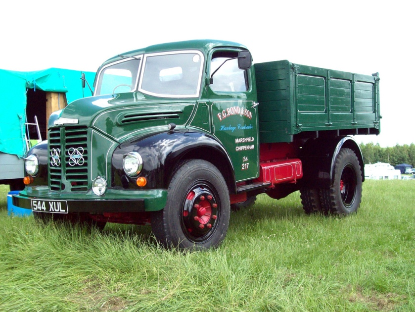 1956 Dodge Kew P6 100 Tipper Engine 5560cc Perkins P6 Registered 544 XUL