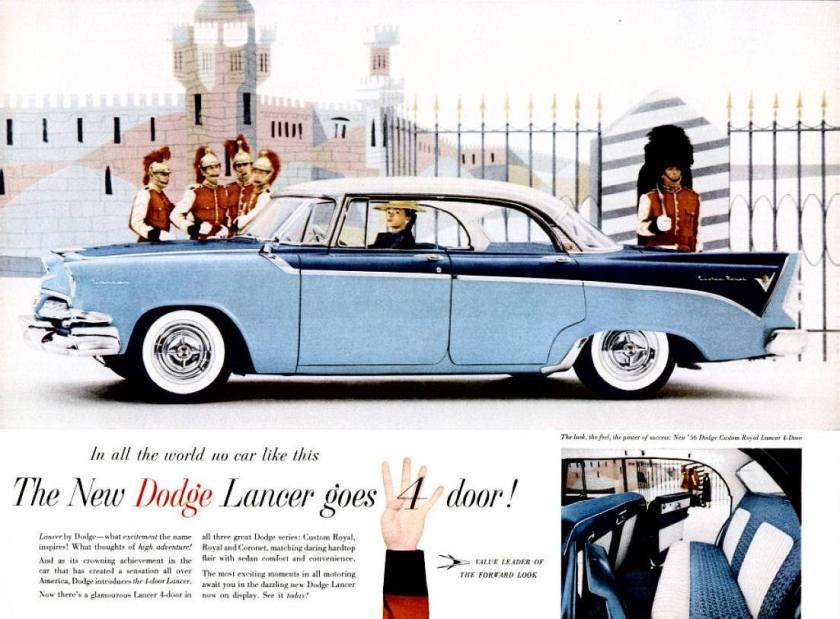 1956 Dodge Lancer 4 d
