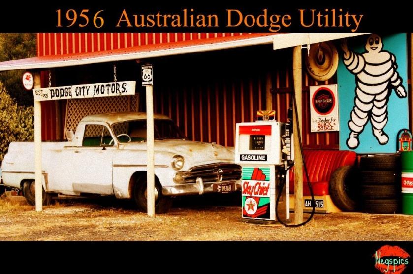 1956 Dodge Utility Update Australian