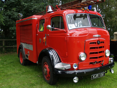 1956 Karrier Fire Engine Trucks